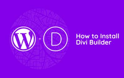 How to Install Divi Builder